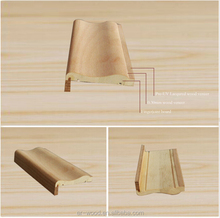 UV base coating veneer wrapped door frame profile moulding