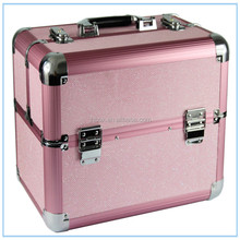 JH602A Professional Cosmetic Makeup Travel Case train BOX hairdresser suitcase