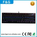 Factory supplier backlight wired gaming computer keyboard accessories for pc laptop