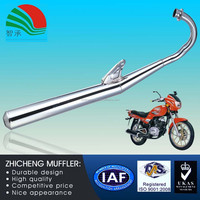 Metal Sintered AX100 Muffler Used in Low Emission Motorcycle