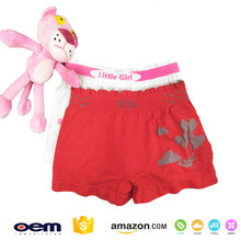 Custom OEM Design Kid Girl Underwear Wholesale Comforable Stretch Seamless Cute Cartoon Panties Briefs Shorts For Girl