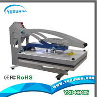 2015 newest plain t-shirt flat heat press machine