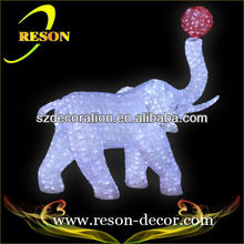 Lighted elephant wish ball New christmas decoration 2013