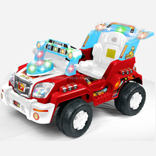SE97333 New Design Red Color Jeep Type Kids Drive Toy Car