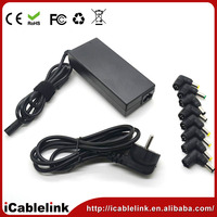 CE RoHs FCC approved factory sell 90W ac/dc universal power supply for laptops