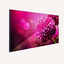 With Samsung hd display 3x3 55 inch seamless tv video wall