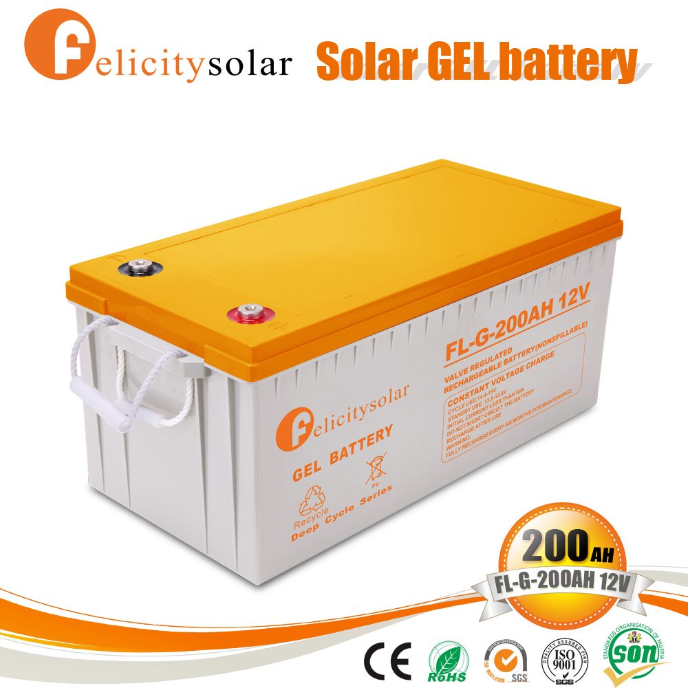 Cheap lead crystal battery for solar with good price