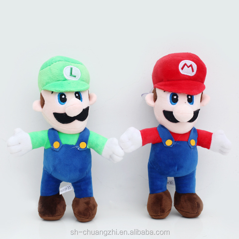 Vivid FAMA Audit Wholesale factory OEM Factory stuffed Plush soft action figure Characters Game Super Mario Dolls