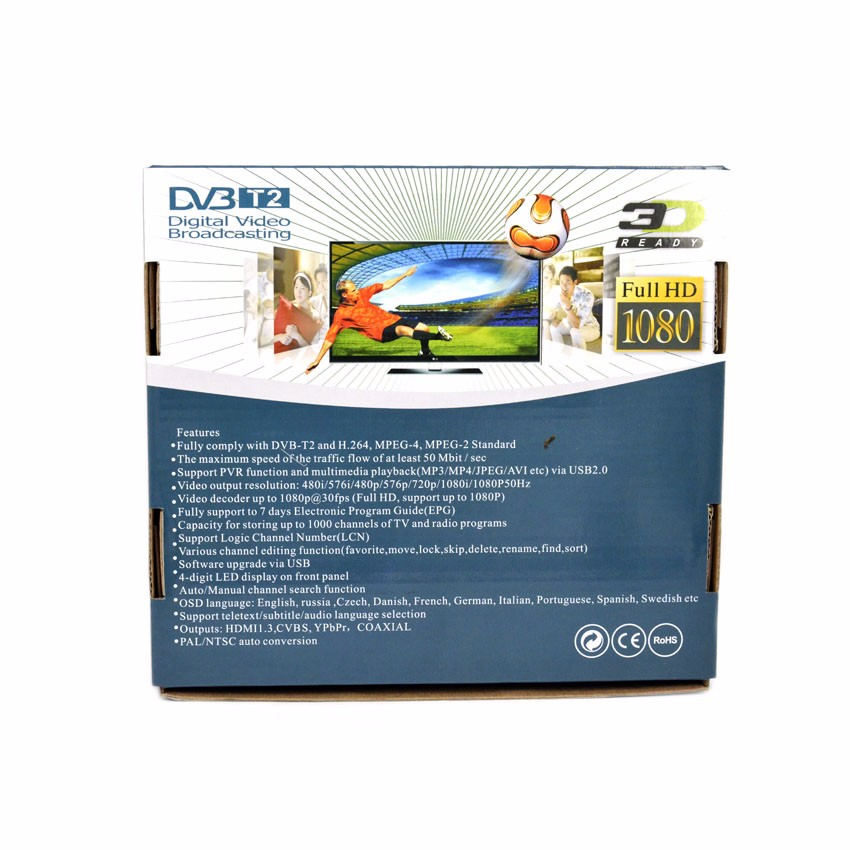 SYTA dvb t2 hd receiver 1080p tv box dvb-t2 digital tv receiver