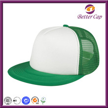 Guangzhou factory wholesale cheap price 5 panel custom snapback hat trucker cap