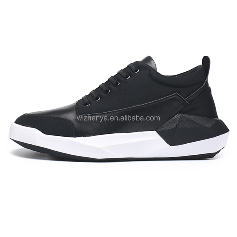Modern design black casual shoes image for wholesale