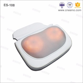 Gift For Christmas Season! ES-108 Electric Neck Massage Pillow Hot Sale Product 3D Massage Shiatsu Pillow Massager With Heating