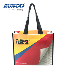 Top Quality Promotional Waterproof Laminated Non Woven Shopping Tote Bag
