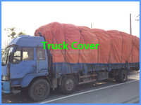poly woven material heat resistant waterproof canvas tarps custom truck covers for sale
