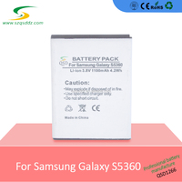 Custom android battery for phone 1200mah for Sam S5380 from China wholesaler