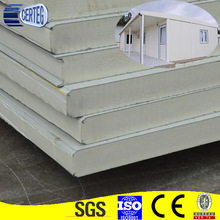 100mm PU sandwich panel fireproof sandwich panel polyurethane price
