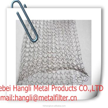 Liquid Gas Filter Mesh/Stainless Steel Wire mesh Knitted wire mesh