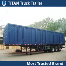 Widely Used strong Cargo Box Trailers For Sale