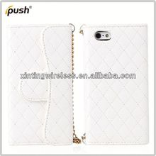 China Global Supplier pu leather case for iphone5 fashion cell phone case