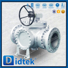 3 Way Ball Valve Price With Gear Operator