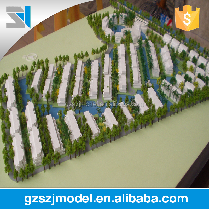 Miniature Scale Residential Architectural Models For Sale