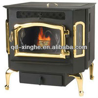 2016 fashionable style Antique freestanding wood stove cast iron wood stove