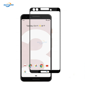 Maxshine Silk Print Tempered Glass , For Pixel 3 Tempered Glass Screen Protector 9H