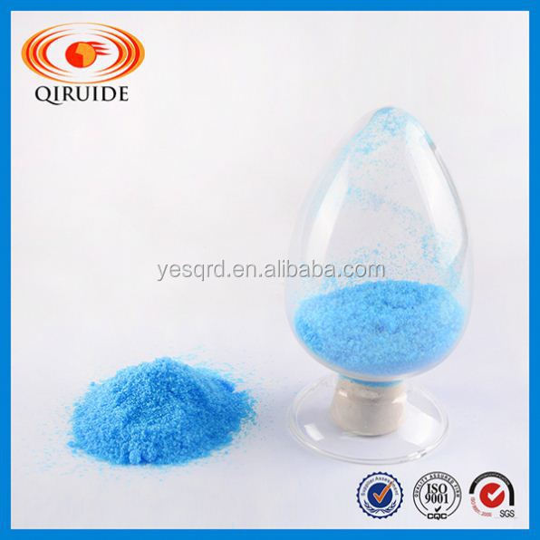 Qiruide Industry Salts Blue Crystal Copper Sulfate Pentahydrate Price