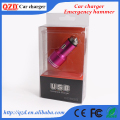 New products for 2016 emergency hammer phone car charger