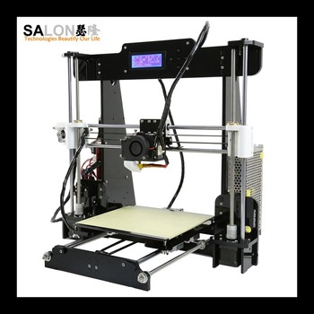 2016 best sale shenzhen 3D printer Prusa I3 3D Printer Kit Reprap Self-assembly with LCD Screen DIY 3D printer