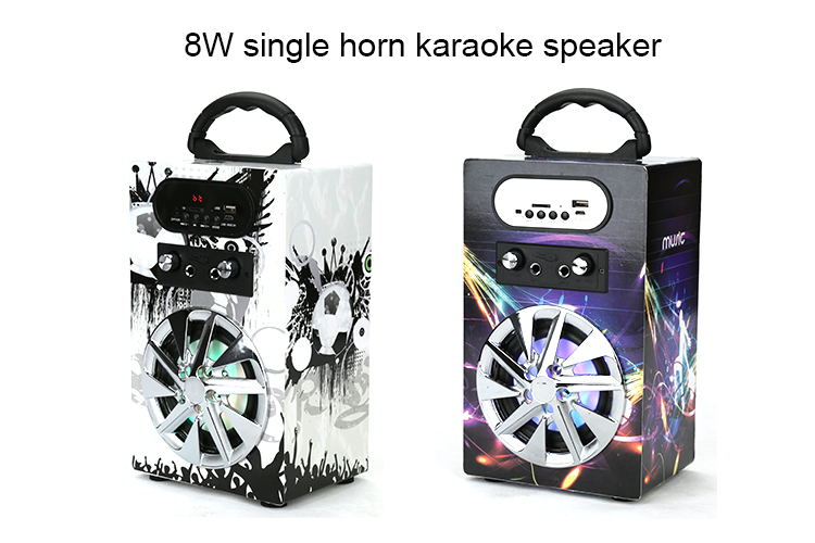 Economic and Efficient colorful led bluetooth speaker with great price