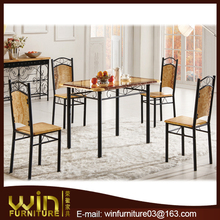 2015 4 seater wood dining table designs