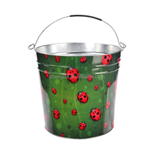 Halloween Treat or Trick Lovely Candy Chocolate Gift Tin Bucket