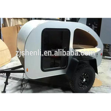 US Vogue Teardrop Shape Camping Caravan For Sale camping trailer