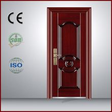 Modern Latest Honeycomb Steel Case Door, New Window Grill Steel Door Design