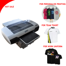 Automatic white ink led a3 size flatbed printer t-shirt printer