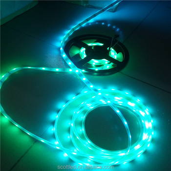 Addressable 5050 ws2812b 144 pixel led strip factory price