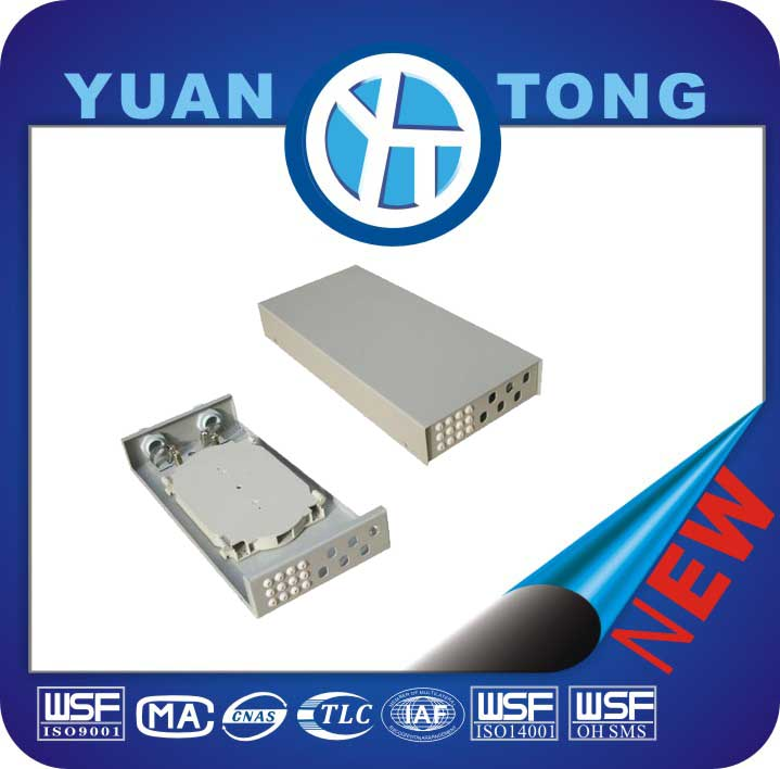 Stainless Steel GPON 4 Core Fiber Optic Terminal Box