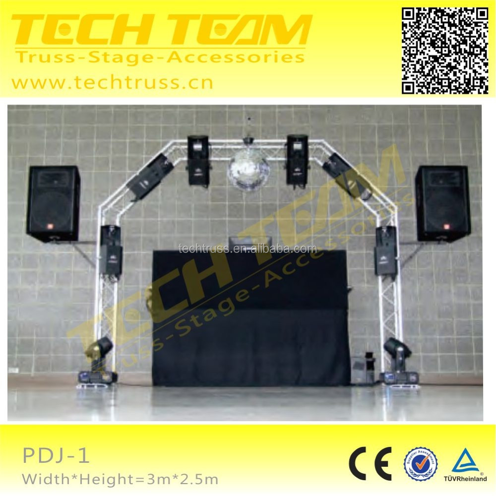 Indoor Lighting DJ Trusses System For Wedding Event