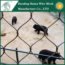 Durable zoo enclosure animals wire mesh fence