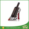 Zebra High Heel Shoe Wine Bottle Holder