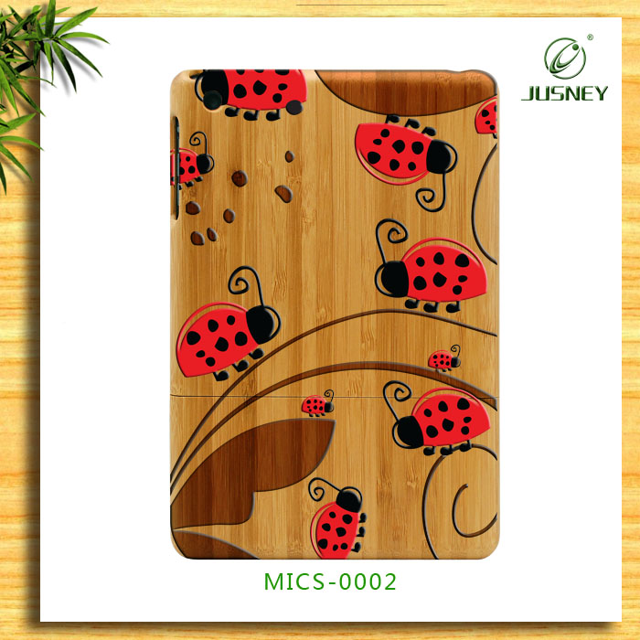 for colors custom for ipad 2/3/4 tablet case wood