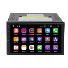 Full touch screen android car navigator multimedia system 2din universal android 9.0 car dvd player