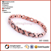 High quality stainless steel heavy copper bracelets