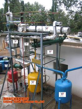 Finished products waste black engine oil recycling plant for Used motor oil recycling process