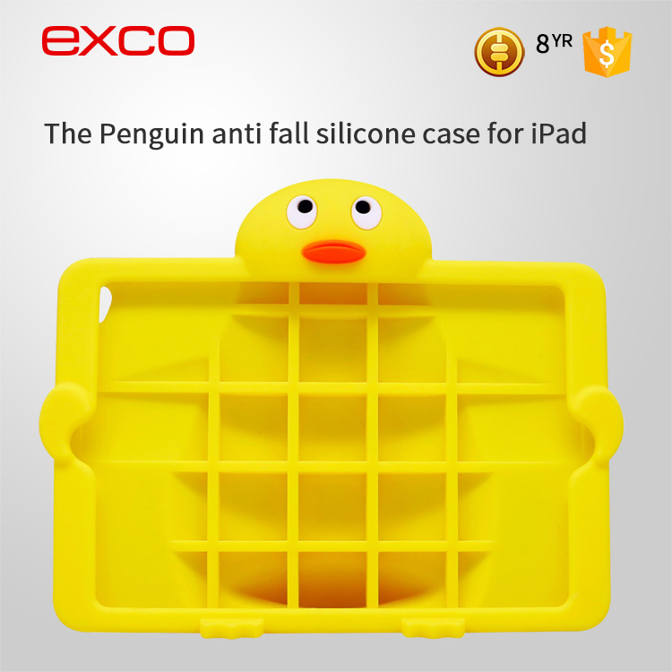 EXCO brand new custom cartoon child bluetooth keyboard life proof for minion case for ipad air