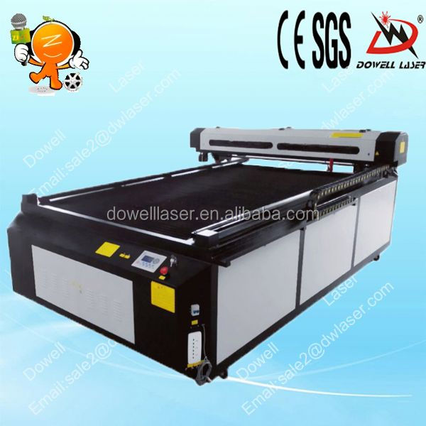 co2 glass bottle wedding invitations laser cutting machine with CE,CIQ of DW-1325