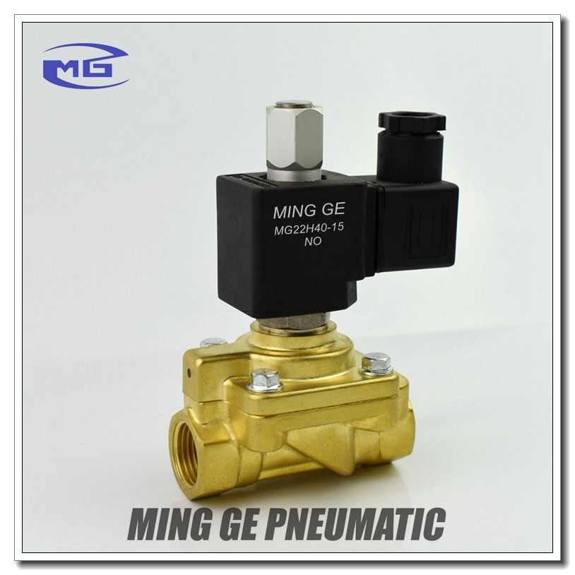 1/2 inch 3/4 inch Normally open Solenoid Valve for Plastic bottle making machine - 40 bar