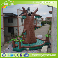 hot sale giant inflatable climbing wall / inflatable rock climbing for sale