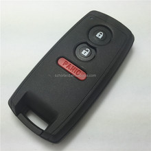 Hot selling replacement key card for suzuki 2+1 button remote key cover key blank